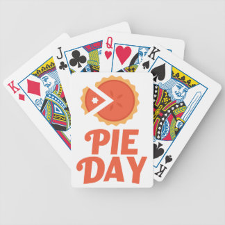 January 23rd - Pie Day - Appreciation Day Bicycle Playing Cards