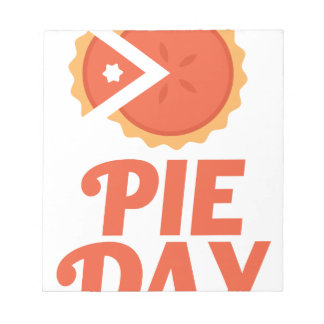 January 23rd - Pie Day - Appreciation Day Notepad