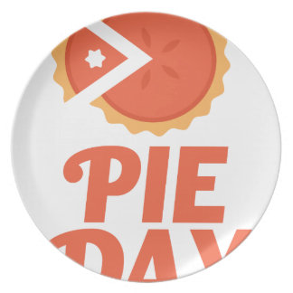 January 23rd - Pie Day - Appreciation Day Party Plate
