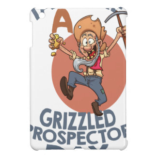January 24th - Talk Like A Grizzled Prospector Day Cover For The iPad Mini