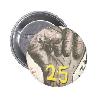 January 25 uprising 6 cm round badge