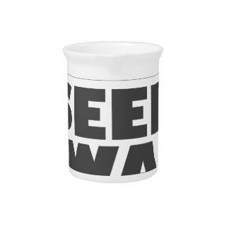 January 28th - Seed Swap Day - Appreciation Day Beverage Pitcher