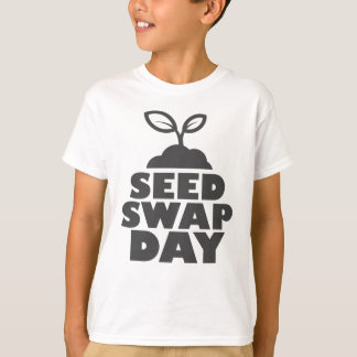 January 28th - Seed Swap Day - Appreciation Day T-Shirt