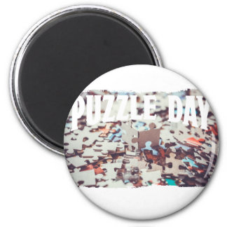 January 29th - Puzzle Day - Appreciation Day Magnet
