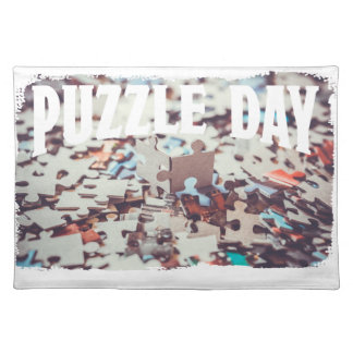January 29th - Puzzle Day - Appreciation Day Placemat