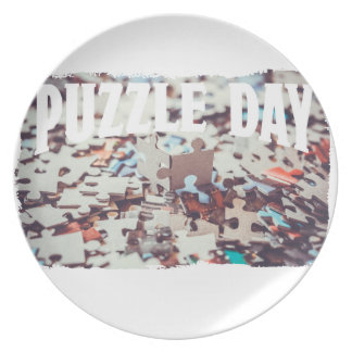 January 29th - Puzzle Day - Appreciation Day Plate
