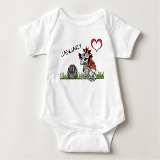 January Baby Dragon Baby Bodysuit