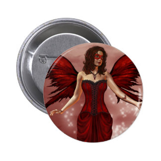 January Birthstone Fairy Button