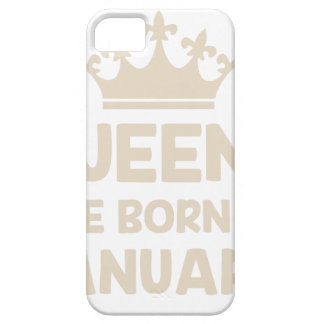 January Queen Barely There iPhone 5 Case