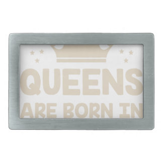January Queen Belt Buckles