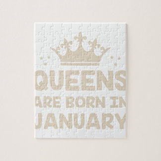 January Queen Jigsaw Puzzle