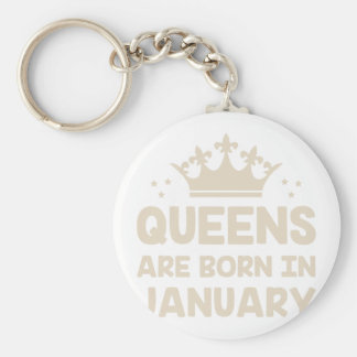 January Queen Key Ring
