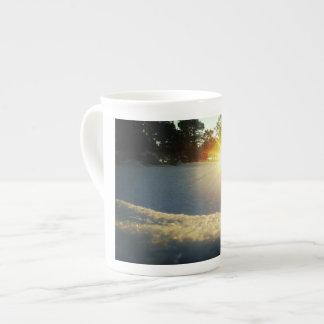 January Sunset Tea Cup