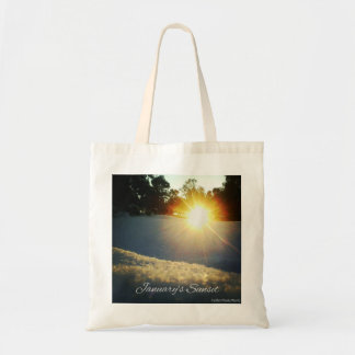 January Sunset Tote Bag