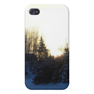 January Winter Morning iPhone 4/4S Cases
