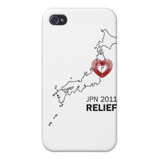 Japan 2011 Earthquake Tsunami Relief iPhone 4/4S Cover
