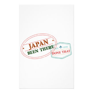 Japan Been There Done That Stationery