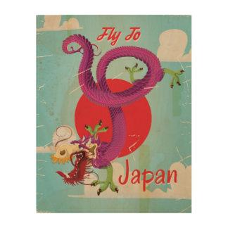 Japan Dragon Vintage Travel Poster