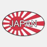 Japan Euro Sticker