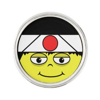 Japan Face Lapel Pin
