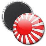 Japan Flag 2.0 Fridge Magnets