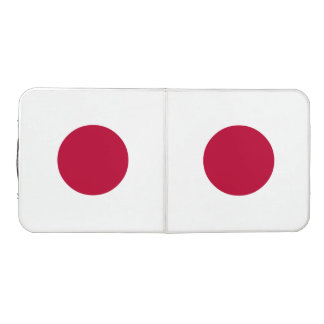 Japan Flag Beer Pong Table
