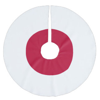 Japan Flag Brushed Polyester Tree Skirt