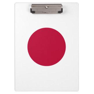 Japan Flag Clipboard