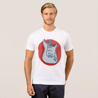 Japan Flag Guitar T-Shirt