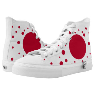 Japan Flag High Tops