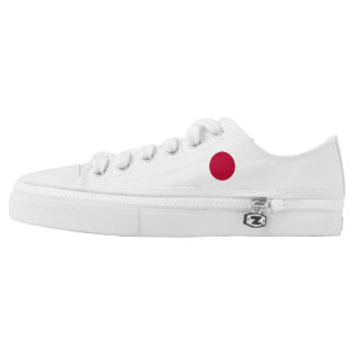 Japan Flag Low Tops