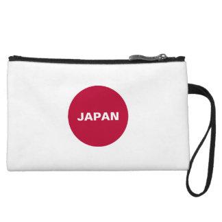 Japan Flag Wristlets Wallet