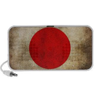 Japan Grunge Flag iPod Speaker