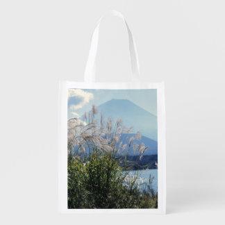 Japan, Honshu, Yamanashi Pref., Fuji-Hakone-Izu Reusable Grocery Bag