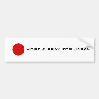 Japan - Hope Bumper Sticker