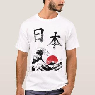 Japan in Kanji Men's T Shirts