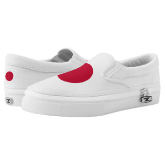 Japan Japanese Flag Slip-On Shoes
