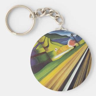 Japan Basic Round Button Key Ring