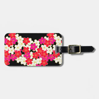 japan kimono styled pattern luggage tag