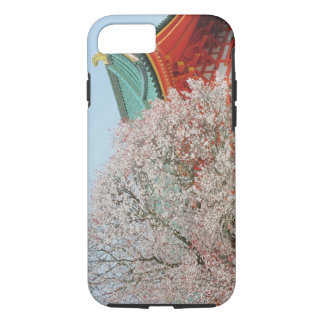Japan, Kyoto. Cherry blossom of Shinto iPhone 7 Case
