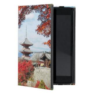 Japan, Kyoto. Kiyomizu temple in Autumn color Covers For iPad Mini