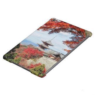 Japan, Kyoto. Kiyomizu temple in Autumn color iPad Air Covers