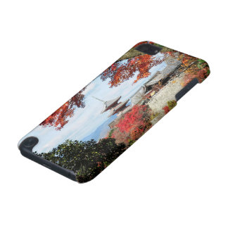 Japan, Kyoto. Kiyomizu temple in Autumn color iPod Touch (5th Generation) Cases