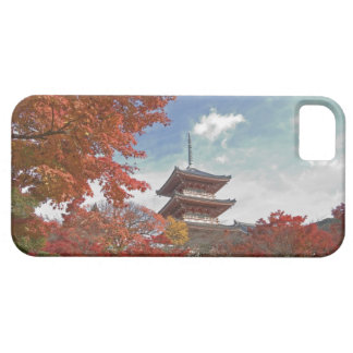 Japan, Kyoto, Pagoda in Autumn colour iPhone 5 Case