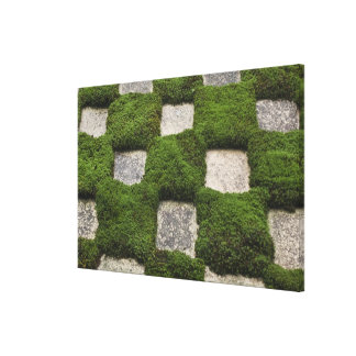 Japan, Kyoto, Tofukuji Temple, Garden Stretched Canvas Print