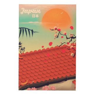 Japan Landscape travel poster