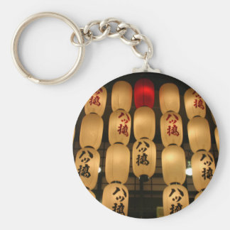 japan lanterns basic round button key ring