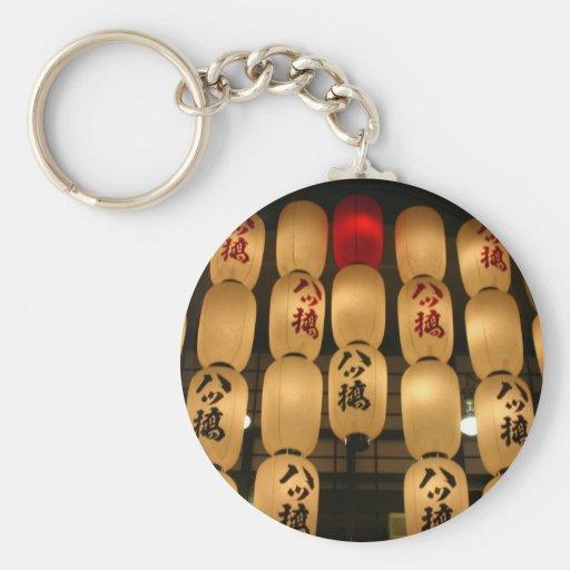 japan lanterns key chains
