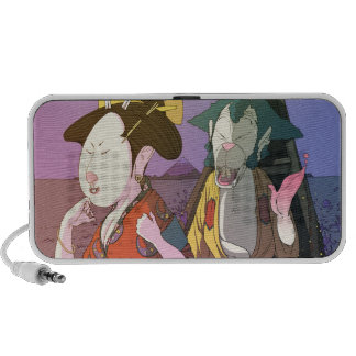 Japan love laptop speaker