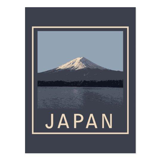 Japan Mount Fuji Postcard
